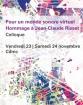 Pour un monde sonore virtuel- Hommage à Jean-Claude Risset