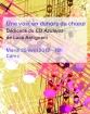 Une voix en dehors du chœur. Dédicace du CD Azulejos de Luca Antignani