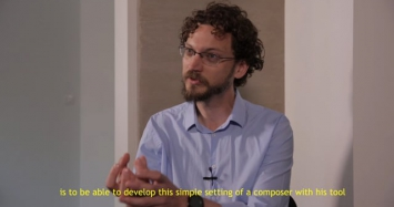Sébastien Béranger: Elargir l'espace acoustique