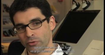 Le compositeur à l'oeuvre: Jean-Pascal Chaigne