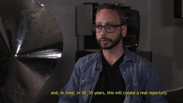 Maurilio Cacciatore: A new conquest of space